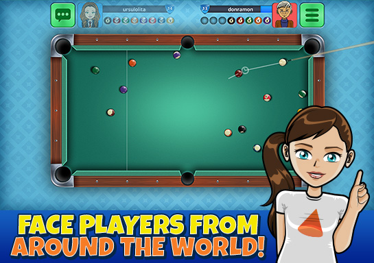 8 ball pool online - 1