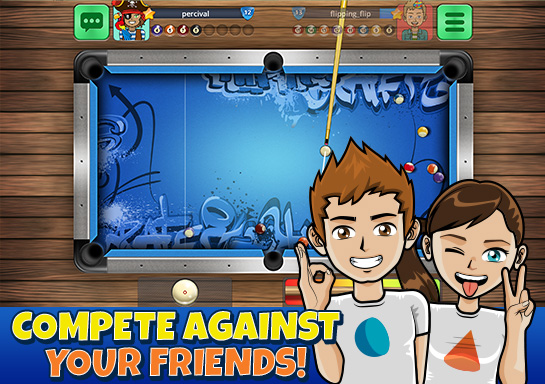 8 ball pool online - 7