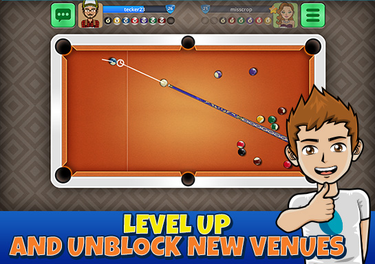 8 ball pool online - 9