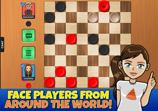 free online checkers