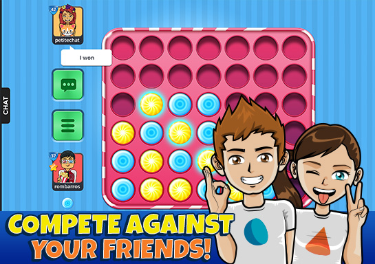 Connect 4 online - 7